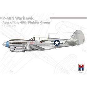 Hobby 2000 48001 P-40N Warhawk Aces of The 49th Fighter Group