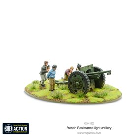 Bolt Action French Resistance light artillery