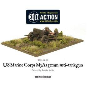 Bolt Action USMC M3A1 37mm anti-tank gun