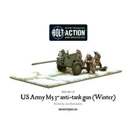 Bolt Action US Army 3-inch anti-tank gun M5 (Winter)