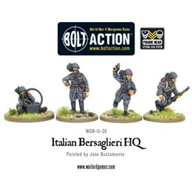 Bolt Action Italian Army command