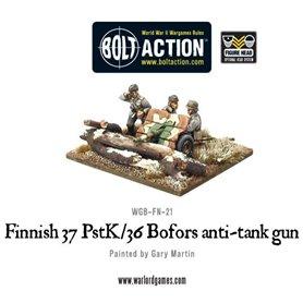 Bolt Action Finnish 37 PstK/36 Bofors anti-tank gun