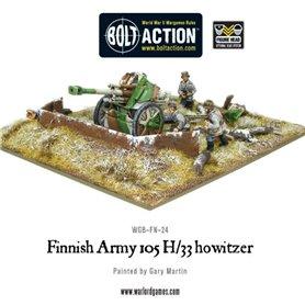 Bolt Action Finnish 105 H/33 Howitzer