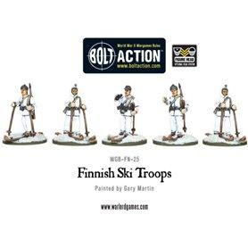 Bolt Action Finnish Ski Troops (5)