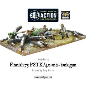 Bolt Action Finnish 75 pstk/40 AT gun