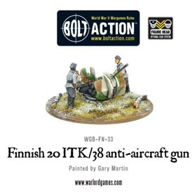 Bolt Action Finnish 20 itk/38 AA gun
