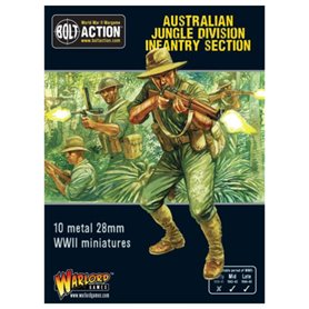 Bolt Action Australian Jungle Division infantry section (Pacific)
