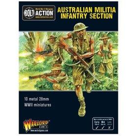 Bolt Action AUSTRALIAN MILITIA INFANTRY SECTION - PACIFIC