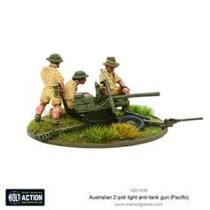 Bolt Action AUSTRALIAN 2-PDR LIGHT ANTI-TANK GUN - PACIFIC