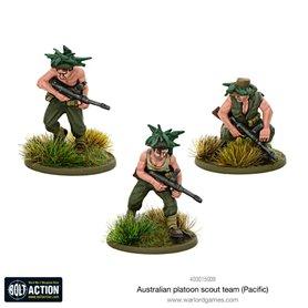 Bolt Action Australian platoon scout team (Pacific)