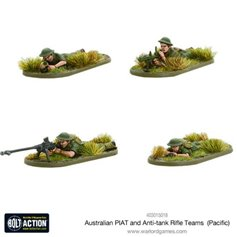 Bolt Action AUSTRALIAN PIAT AND ANTI-TANK RIFLE REAMS - PACIFIC