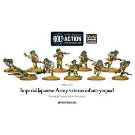 Bolt Action Japanese Veteran infantry squad