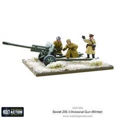 Bolt Action SOVIET ZIS-3 DIVISIONAL GUN - WINTER