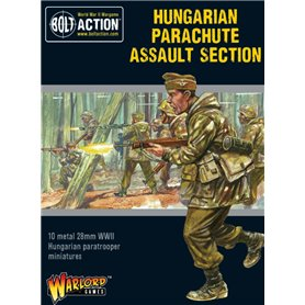 Bolt Action Hungarian Parachute Assault section
