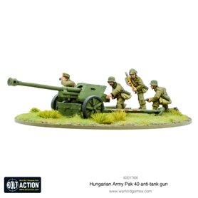 Bolt Action Hungarian Army Pak 40 anti-tank gun