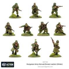 Bolt Action HUNGARIAN ARMY HONVED DIVISION SECTION - WINTER