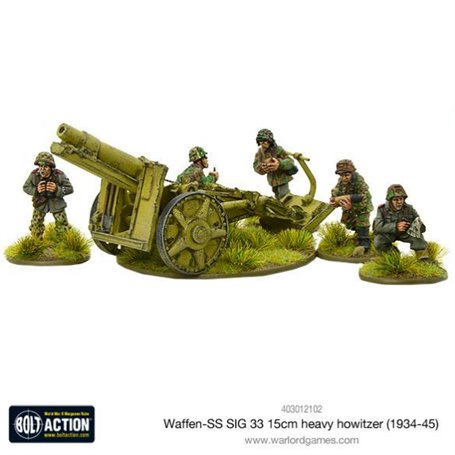 Bolt Action Waffen-SS SIG 33 15cm heavy howitzer (1943-45)