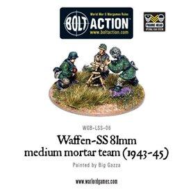 Bolt Action Waffen-SS81mm medium mortar team (1943-45)