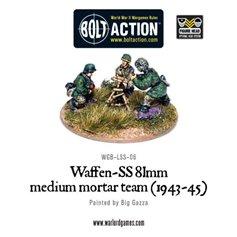 Bolt Action WAFFEN SS 81MM MEDIUM MORTAR TEAM 1943-1945