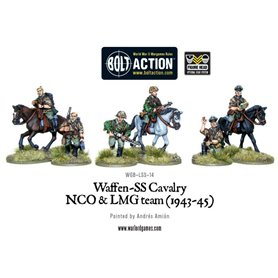 Bolt Action Waffen SS Cavalry NCO + LMG 1942-44
