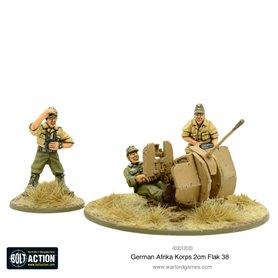 Bolt Action Afrika Korps 2cm Flak 38