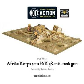 Bolt Action AFRIKA KORPS 5cm Pak38 Anti-Tank Gun