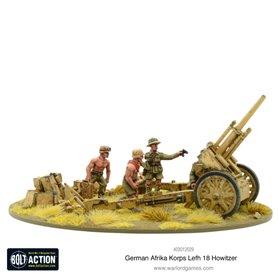 Bolt Action AFRIKA KORPS LeFH 18 10.5cm medium artillery