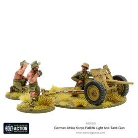 Bolt Action AFRIKA KORPS Pak 36 light anti-tank gun