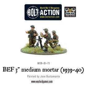 Bolt Action BEF 3 INCH MEDIUM MORTAR - 1939-1940