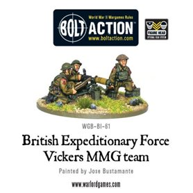 Bolt Action BEF VICKERS HMG TEAM