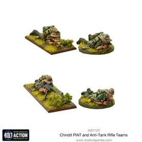 Bolt Action CHINDIT PIAT and anti-tank rifle teams