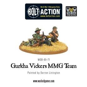 Bolt Action Gurkha Vickers MMG team