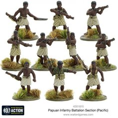 Bolt Action PAPUAN INFANTRY BATTALION SECTION - PACIFIC