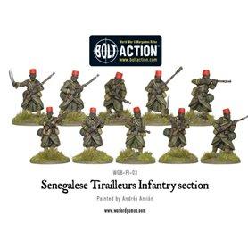 Bolt Action Senegalese Tirailleurs section