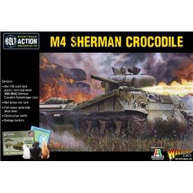 Bolt Action Sherman Crocodile flamethrower tank
