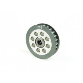 3Racing Aluminum Center One Way Pulley Gear T25
