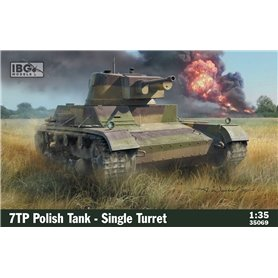 IBG 1:35 7TP Polski czołg lekki - jednowieżowy