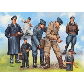 Revell 1:48 Piloci i personel naziemny Luftwaffe WWII | 7 figurek |