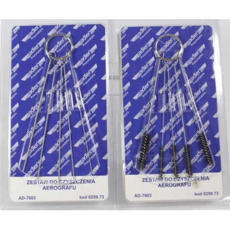 Airbrush cleaning brushes (10pcs)