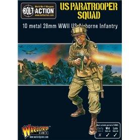Bolt Action US Paratrooper Squad (metal box)