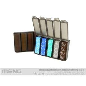 Meng MTS-042 HIGH PERFORMANCE FLEXIBLE SANDPAPER - EXTRA FINE SET