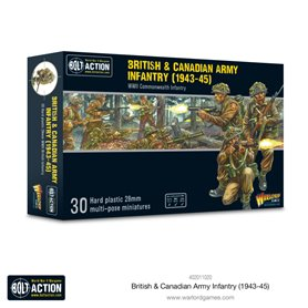 Bolt Action BRITISH AND CANADIAN ARMY INFANTRY - 1943-1945