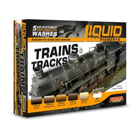Lifecolor Complements for Trains and tracks