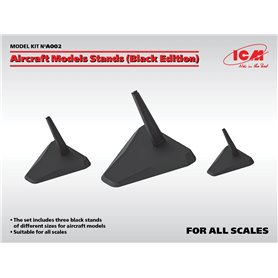 ICM A002 Aircraft Models Stands (Black Edition)