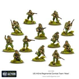 Bolt Action Nisei - 442nd Regimental Combat Team