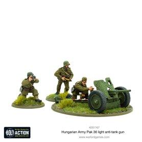 Bolt Action HUNGARIAN ARMY PAK 36 LIGHT ANTI-TANK GUN