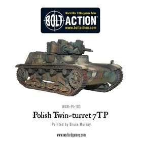 Bolt Action Twin-turreted Polish 7TP tank