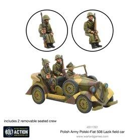 Bolt Action POLISH ARMY POLSKI FIAT 508 ŁAZIK FIELD CAR