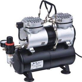 Kompresor TC-30T 2-tłokowy + zbiornik 3,0l