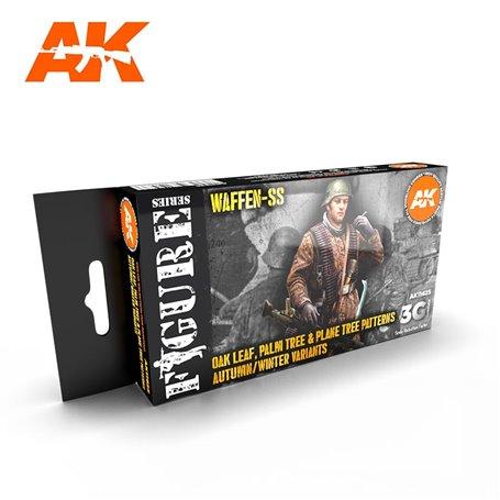 AK Interactive Zestaw farb OAK LEAF AUTUMN-WINTER 3G